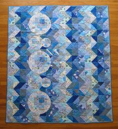 Seeing Water quilt by Daniel Rouse