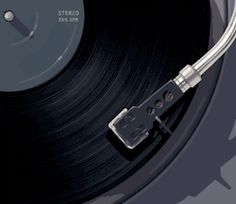 Large collection of the best vinyl gifs, smooth turntable animations, cool dj gifs, seamless record player cinemagraphs. Enjoy these spinning gifs. Aesthetic Movies, Aesthetic Gif, Retro Aesthetic, Aesthetic Videos, Aesthetic Pictures, Gif Animé, Animated Gif, Vaporwave, Foto Gif