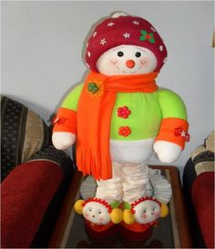 Moldes muñecos de navidad 2013 - Imagui