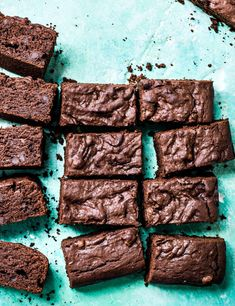 Sweet potato brownies Sweet potatoes add natural sweetness so you need to use less sugar than a regular brownie recipe. It also makes the texture incredibly fudgy