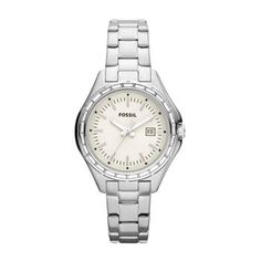 Ladies Fossil Dylan Stainless Steel Watch #fossil #sale #clearance #watch