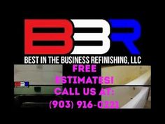 Bathtub Refinishing in Daingerfield Texas (903) 916-0221 Have a look at our Latest Video, tell us what you think! www.bestinthebusinessrefinishing.com