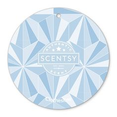 Clothesline Scent Circle -  The much loved aroma of Scentsy clothesline with its fresh, crispness that reminds you of your washing blowing in the breeze, wherever you go.
