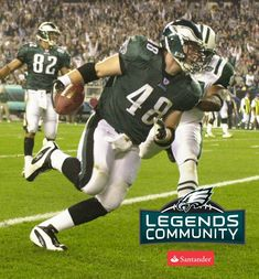 d01b86c3f9d Philadelphia Eagles FB Jon Ritchie Philadelphia Sports, Philadelphia Eagles  Players, Football Highlight, Baseball