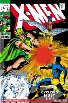 Uncanny X-Men (1963) #54