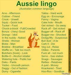 Lingo Dump, Slang for the Masses. Australian Memes, Aussie Memes, Australian Accent, Australian English, Australian Recipes, Australian Icons, Australian Sayings, Australian Dictionary, Australian Party