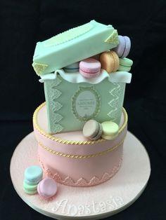 Laduree macaroons cakes