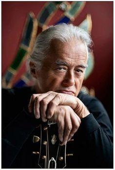 Jimmy Page, photographed by daughter Scarlet, March 7, 2014.