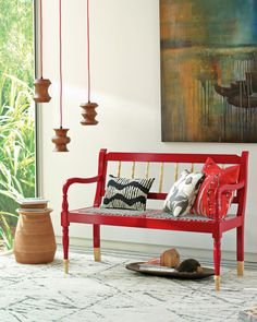 From West Elm's South Africa collection, as seen in Elle Decor.