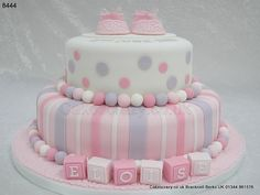 Christening Cake Eloise http://www.cakescrazy.co.uk/details/girls-christening-cake-8444.html