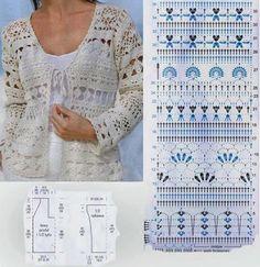 diverse crochet patterns
