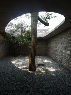 atelier archmixing / twin trees pavilion