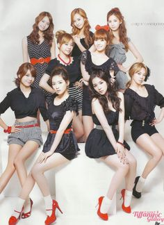 SNSD Fashion Photo Shoot
