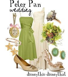 Poster Palette - Peter Pan * Wedding inspiration by Disney This, Disney That