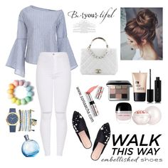 Walk this Way by soniaaicha on Polyvore featuring polyvore, fashion, style, KG Kurt Geiger, Mixit, Bobbi Brown Cosmetics, Guerlain, Marc Jacobs, Charlotte Russe, Ciaté, Chanel and clothing