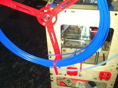 Parametric Filament Spool Mk2 by randyy - Thingiverse
