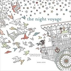 The Night Voyage: A Magical Adventure and Coloring Book (Time Series): Daria Song: 9780399579042: Amazon.com: Books