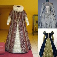 trajes del siglo XVI.