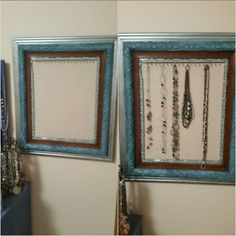Necklace Organization, Frame, Home Decor, Picture Frame, Decoration Home, Room Decor, Frames, Home Interior Design, Home Decoration