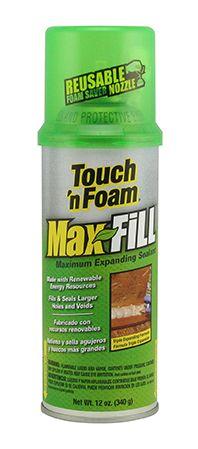 Touch 'n Foam MaxFill Expanding Foam Sealant Expanding Foam, Save Energy, Insulation, Touch, Seals, Costa Rica, Larger, Bond, Fill