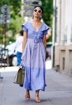 Tendencias: zapatos cómodos, el mejor accesorio del 'street style'. #fashion #moda #tendencia #trend