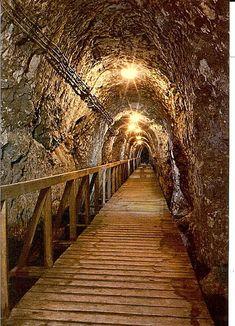 Megiddo Tunnel Israel; Ahab's water tunnel.