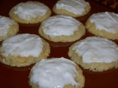 Frosted Ricotta Almond Cookies Shared on https://www.facebook.com/LowCarbZen