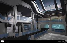 ArtStation - DOOM - Clean Architecture 2, Colin Geller