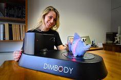 3ders.org - DIMBODY 3D desktop scanner | 3D Printer News & 3D Printing News