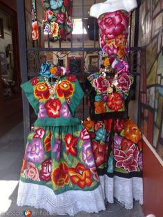 Traje típico del Istmo de Tehuantepec