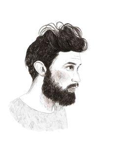 Juan Pablo. (Diciembre 2014) Lápiz grafito + Ps http://instagram.com/danidahf