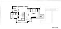 First floor plan by by ARX Studio