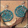 Dream Catcher Jewelry (crochet - freepatterns.com)