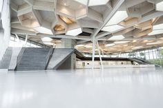 Campus Restaurant and Event Space by Barkow Leibinger Architects