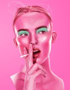 Jordan is an artist from UK, currently studying at collage and developing his own art projects. Painting, Illustration Art, Visual Art, Art, Z Photo, Sci Fi Fashion, Portrait, Pop Art, Beautiful Art