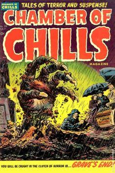 CHANMBER OF CHILLS #pulp #terror #comic