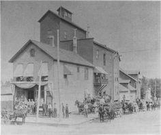 Tusch's Cincinnati Brewery, 208 Grandville & 3rd Street - c. 1877