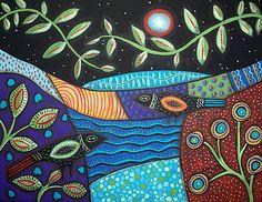 "Photo from album ""Karla Gerard"" on Yandex. Karla Gerard, Sea Illustration, Poster Prints, Art Prints, Posters, Naive Art, Art For Kids, Folk Art, Whimsical"