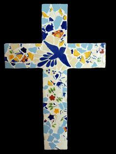 talevera mosaic cross - Google Search