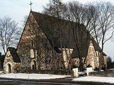 Nagu medeltida stenkyrka. Bild: MV/RHO 6064 Lasse Laaksonen 1972