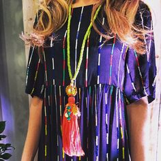 One of our favorite looks from the SUNOxHAMPDEN event last week//www.theodosiajewelry.com