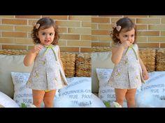 Vestido de rayas. Revista patrones infantiles n º 4 - YouTube