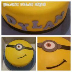 The second Minion cake for my nephew's birthday
