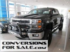 2014 Chevy Silverado 1500 LTZ Southern Comfort Black Widow Supercharged