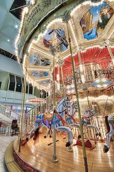 Venetian Carousel |Makes you want to bring the kids!