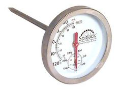 Dual Sensor Meat and Oven Thermometer by SpitJack. $11.95. Handy little tool, very useful, for not much money.. Easy to clean and reusable. Can read the ambient heat temperature as well as the internal temperature of the meat. Reads both Temperatures on one dial!. If you are cooking a large whole animal, you have to keep track of both the internal meat temperature and the temperature at which the meat is cooking (ambient temperature). If you are using an oven or enc...