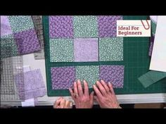 """""""This is a Know Nothing Quilting Beginners MUST WATCH Video! Includes Details On The """"INFAMOUS"""" 1/4 Inch SEAM! - Page 2 of 4 - Keeping u n Stitches Quilting 