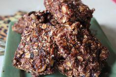 homemade protein bars - so good!