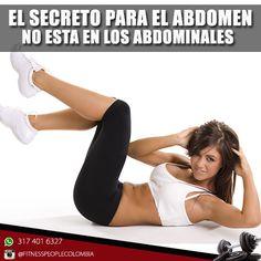 El secreto para perder abdomen no esta en los abdominales como siempre habiamos creido.