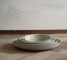 coloured bowls by kirstie van noort